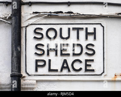 South Sheds Place - Stock Image