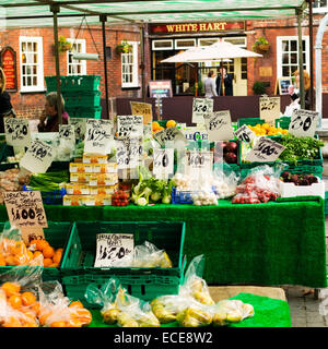 market stall - Stock Image