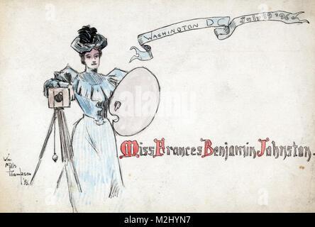 Frances Benjamin Johnston, 1896 - Stock Image