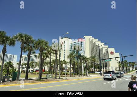 Hilton Hotel, Daytona Beach, Florida, USA - Stock Image
