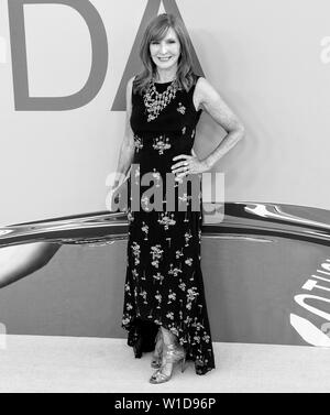 New York, NY - June 03, 2019: Nicole Miller attends 2019 CFDA Fashion Awards at Brooklyn Museum - Stock Image