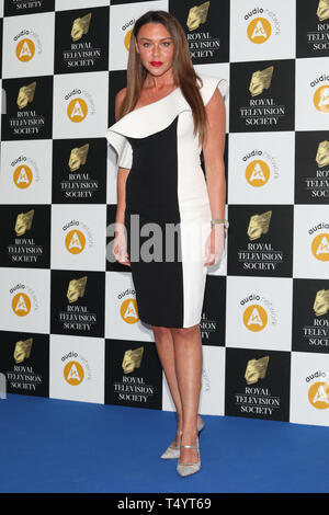 The Royal Television Society Awards (RTS Awards) 2019 held at Grosvenor House Hotel - Arrivals  Featuring: Michelle Heaton Where: London, United Kingdom When: 19 Mar 2019 Credit: Lia Toby/WENN.com - Stock Image