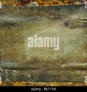 Abstract weathered grunge dirty cloth texture background - Stock Image