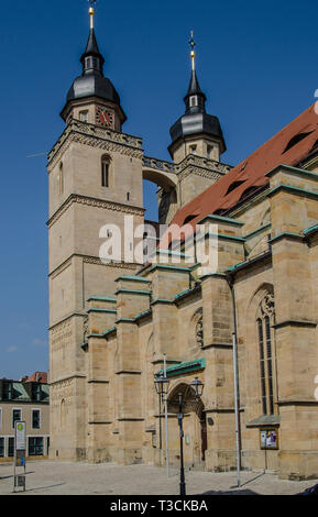 BAYREUTH, Gothic town church Holy Trinity, Evangelical Lutheran main church of Upper Franconia. - Stock Image