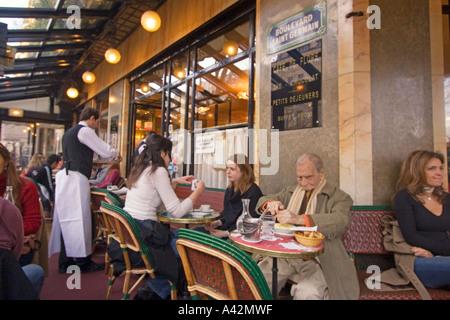 Paris St German Cafe de Flore - Stock Image