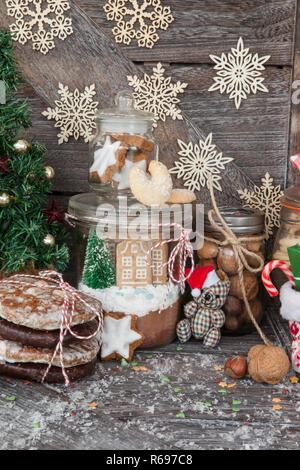 Christmas Treats - Stock Image