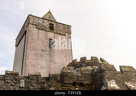 Doe Castle, County Donegal, Ireland - Stock Image