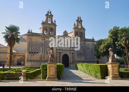 Basílica de Santa María de los Reales Alcázares. Úbeda, Jaén, Andalusia, Spain. - Stock Image