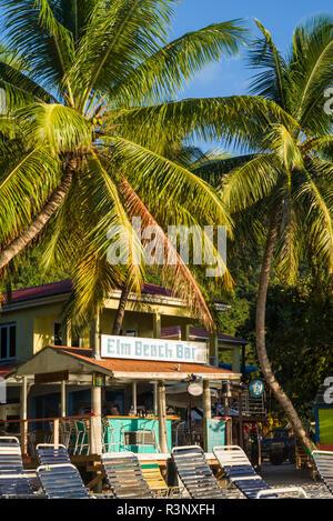 British Virgin Islands, Tortola. Cane Garden Bay Beach - Stock Image