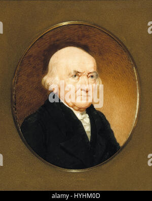 Charles Fraser   Nathaniel Russell   Google Art Project - Stock Image