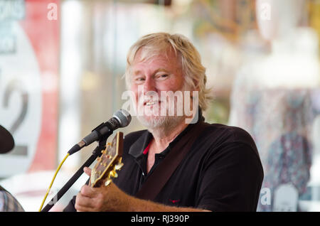Busker No. 72. Tamworth Country Music Festival 2019. - Stock Image