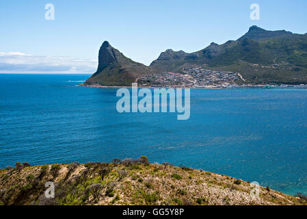 View of the sea during sunny day - Stock Image