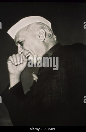 An archive image of jawaharlal Nehru - Stock Image