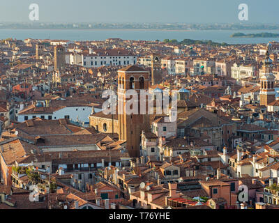Venice Rooftops II - Stock Image