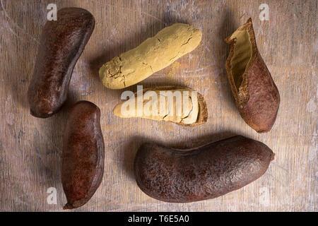 stinking toe fruit closeup - Stock Image