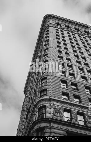 Rear of the Flatiron Building, NYC - Stock Image