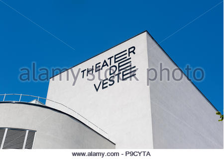 Delft The Netherlands Theater De Veste - Stock Image