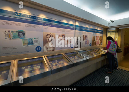 bank of england museum - Stock Image