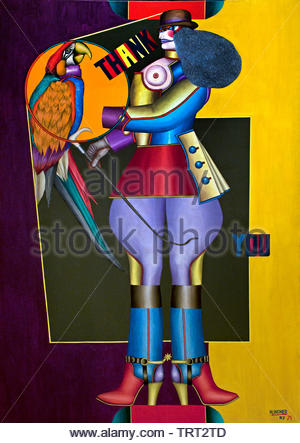 Thank You by Richard Lindner born 1901 German American United States of America Germany - Stock Image