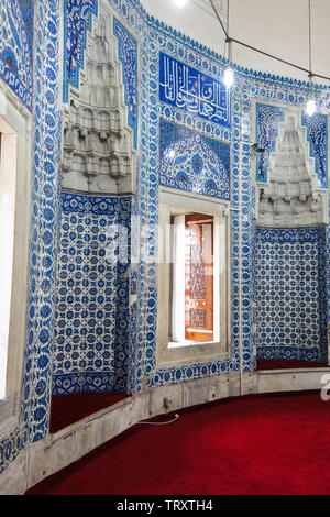 Tombs of the sultans. Suleiman II. The Suleymaniye Mosque. Istambul, Turkey - Stock Image