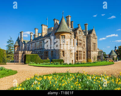 Palace House at Beaulieu - Stock Image