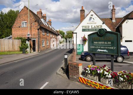 The Lamb Inn, Mill Street, Wantage,Oxon, U.K. - Stock Image