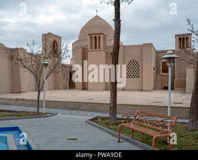 Nain Jameh mosque, Isfahan province, Iran - Stock Image