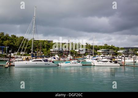 Hamilton Island Marina - Stock Image
