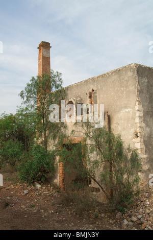 Former mine of Santa Brigida, Mineral de Possos, Province of Guanajuato, Mexico - Stock Image
