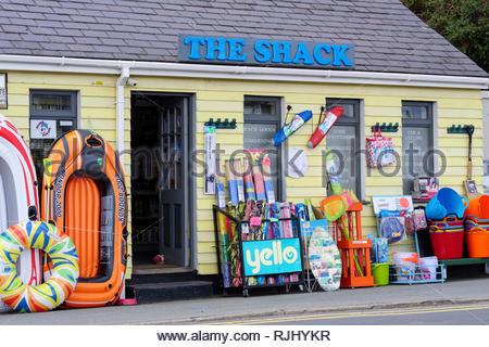 The Shack Abersoch Gwynedd Wales - Stock Image