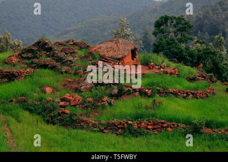 araku,ap state,india - Stock Image