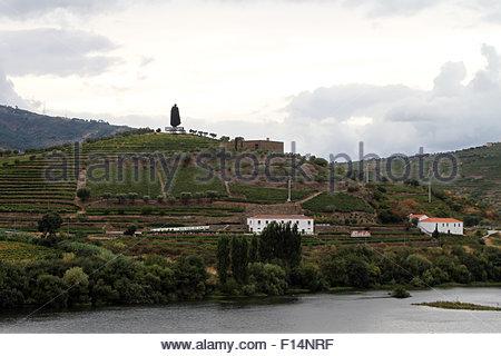 Peso da Regua, Portugal. 22nd Aug, 2015. © Dominic Dudley/Pacific Press/Alamy Live News - Stock Image