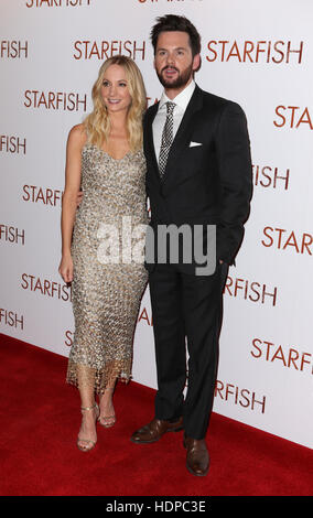 Guests attend red carpet for the UK Premiere of Starfish  Featuring: Joanne Froggatt, Tom Riley Where: London, United - Stock Image