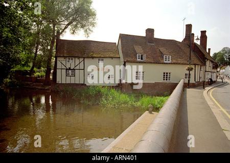 The Bull Public House, Wheathampstead, Hertfordshire, UK - Stock Image