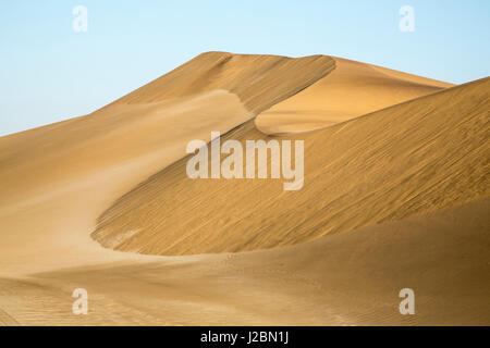 Africa, Namibia, Namib Desert. Pinwheel pattern on sand dunes. Credit as: Wendy Kaveney / Jaynes Gallery / DanitaDelimont.com - Stock Image