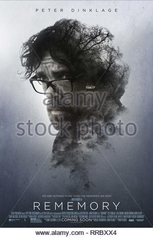 REMEMORY, PETER DINKLAGE POSTER, 2017 - Stock Image