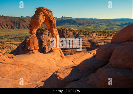 Delicate Arch Arches National Park - Stock Image