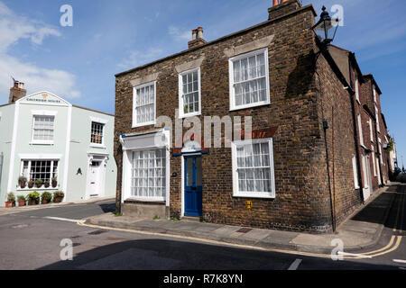 Dolphin Cottage, 164 Sandown Road, Deal, Kent - Stock Image