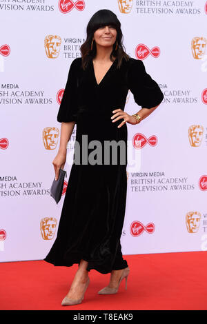 LONDON, UK. May 12, 2019: Claudia Winkleman arriving for the BAFTA TV Awards 2019 at the Royal Festival Hall, London. Picture: Steve Vas/Featureflash - Stock Image