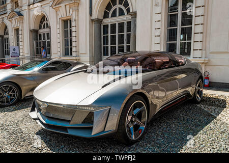Turin, Piedmont, Italy. 22nd June 2019.Italy Piedmont Turin Valentino - valentino castle - park Auto Show 2019 - Credit: Realy Easy Star/Alamy Live News Credit: Realy Easy Star/Alamy Live News - Stock Image