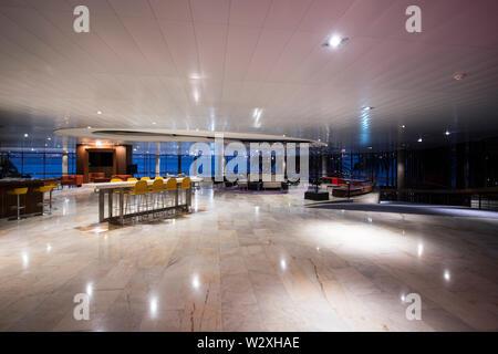 Portugal, Madeira Island, Funchal, Pestana Casino Park Hotel designed by Oscar Niemeyer - Stock Image
