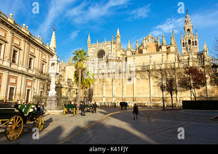 Seville Cathedral - Stock Image