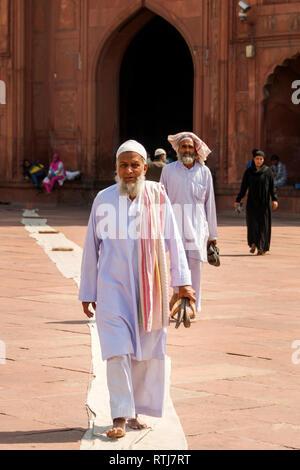 Dargah Sufi Sarmast, Dargah Hare Bhare Shah Sufi mosque, New Delhi, India - Stock Image