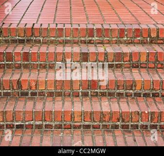 brick steps - Stock Image