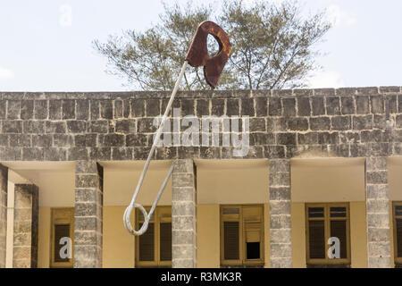 Cuba, Havana. Art school building with safety pin decor. Credit as: Wendy Kaveney / Jaynes Gallery / DanitaDelimont.com - Stock Image