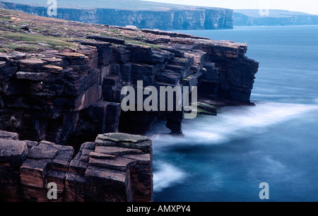 PICTURE CREDIT DOUG BLANE Bis Geos Westray Orkney - Stock Image