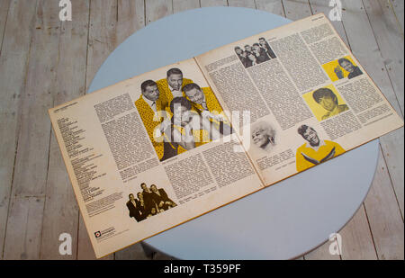 Inside Chess Records Golden Decade compilation - Stock Image