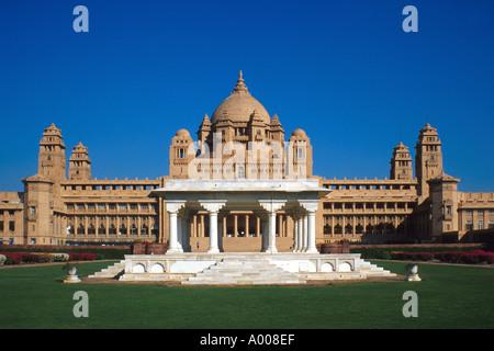 Maharaja of Jodhpur's Palace, Jodhpur, Rajasthan, India - Stock Image