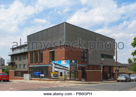Vere Close, Rectory Place, Woolwich - Stock Image