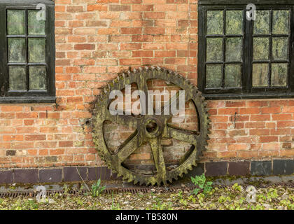 Forge Mill Needle Museum in Redditch, Worcestershire, England - Stock Image